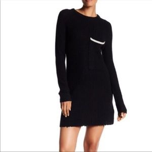 Zadig & voltaire deluxe pointelle cashmere dress